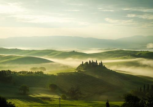 Het prachtige Toscaanse landschap
