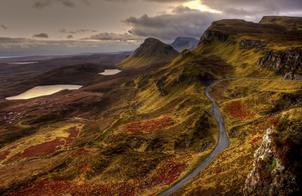 Edinburgh en Schotland